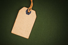 Leerer Rabatt-Weinlese-Preis-Aufkleber als Kopien-Raum Lizenzfreies Stockbild