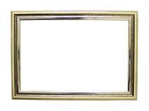 Leerer Rahmen auf einem weißen Hintergrund Stockbilder