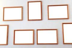Leerer Rahmen von einem Bild Stockfotos