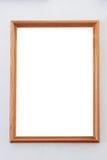 Leerer Rahmen von einem Bild Stockfotografie