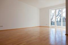 Leerer Raum im Haus Stockfotografie