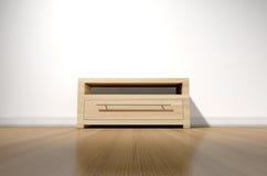 leeres h lzernes regal auf wei er gipswand lizenzfreies stockfoto bild 35040485. Black Bedroom Furniture Sets. Home Design Ideas