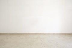 Leerer Raum mit Marmorboden Stockfoto