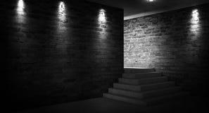 """Leerer Raum, Treppe oben, Aufzug, Rauch, Smog, Neonlichter, Laternen Ð¯Ð·Ñ ‹Ðº кГ ÑŽÑ-‡ Ð?Ð ² Ñ ‹Ñ… Ñ  Ð"""" Ð-¾ Ð ²: Englisch lizenzfreies stockfoto"""