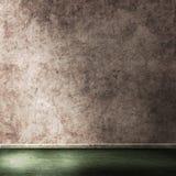 Leerer Rauminnenraum des Schmutzes stock abbildung