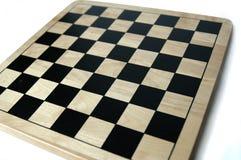 Leerer Schach-/Kontrolleur-Vorstand lizenzfreie stockfotos