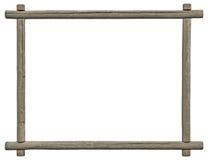 Leerer Schild-Rahmen, lokalisierter Kopien-Raum, Grey Wooden Texture, Schmutz alterte rustikalen verwitterten leeren strukturiert Lizenzfreie Stockbilder