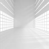Leerer schmaler Raum vektor abbildung