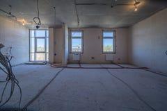 Leerer schmutziger Raum lizenzfreie stockfotografie