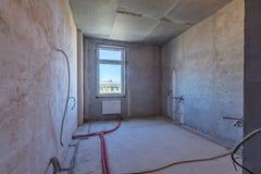 Leerer schmutziger Raum lizenzfreies stockfoto