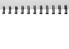 Leerer Sketchbook stockfotos