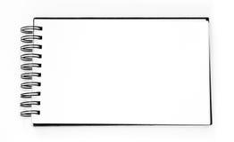 Leerer Sketchbook stockbilder