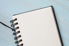 Leerer Sketchpad Stockfotos
