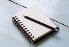 Leerer Sketchpad Lizenzfreie Stockfotos