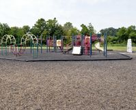 Leerer Spielplatz Lizenzfreies Stockbild
