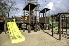 Leerer Spielplatz Stockfotografie