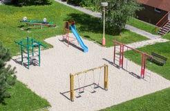 Leerer Spielplatz Lizenzfreies Stockfoto