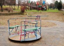 Leerer Spielplatz Stockfoto