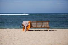 Leerer Strand in Aceh Lizenzfreie Stockbilder