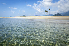 Leerer Strand in Aceh, Indonesien Stockfotos
