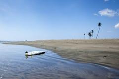 Leerer Strand in Aceh, Indonesien Lizenzfreie Stockfotografie