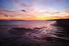 Leerer Strand auf Savu-Insel in Ost-Indonesien Lizenzfreies Stockfoto