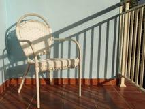 Leerer Stuhl Stockbild