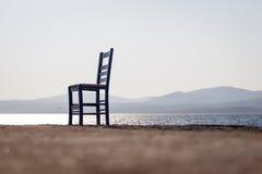 Leerer Stuhl lizenzfreies stockbild