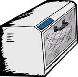 Leerer Toaster-Ofen Stockfoto