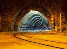 Leerer Tunnel stockfotografie