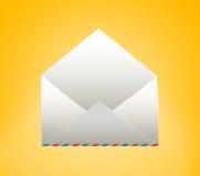 Leerer Umschlag Lizenzfreie Stockfotos