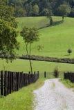 Leerer Weg auf der Landschaft Lizenzfreie Stockbilder