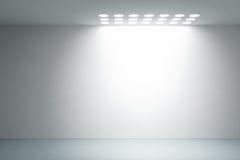Leerer weißer Innenraum Lizenzfreie Stockfotos
