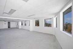 Leerer weißer Raum Stockbilder