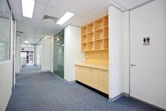 Leerer weißer Raum Stockfoto