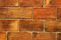 Leerer Ziegelsteinblock stellen Wand her Stockbild