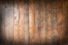 Leeres altes h?lzernes des Brauns, Beschaffenheitshintergrund, Kopienraum stockbild