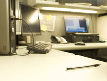 Leeres Büro lizenzfreie stockfotos