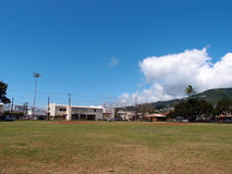 Leeres Baseball-Feld Stockfoto