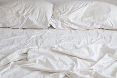 Leeres Bett Stockbild