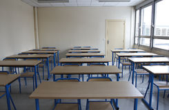 Leeres Classrooom Stockfotos