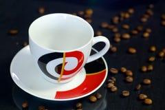 Leeres Cup für Kaffee Stockfotos