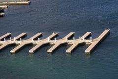 Leeres Dock Lizenzfreies Stockfoto