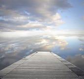 Leeres Dock stockfoto