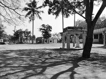 Leeres Dorf Stockfotografie
