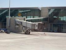 Leeres Flughafentor Lizenzfreie Stockbilder