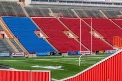 Leeres Fußballstadion Stockfoto
