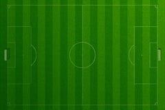 Leeres Fußballplatzgras Lizenzfreies Stockfoto
