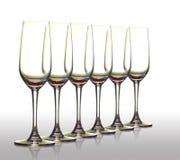 Leeres Glas. Lizenzfreie Stockfotos