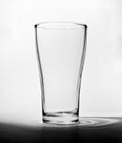 Leeres Glas Stockfoto